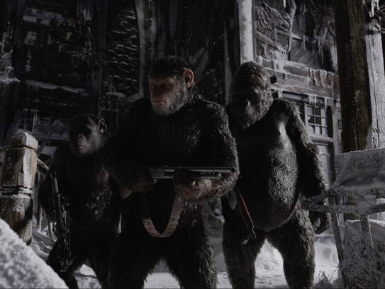 """War for the Planet of the Apes"" is one of the best"