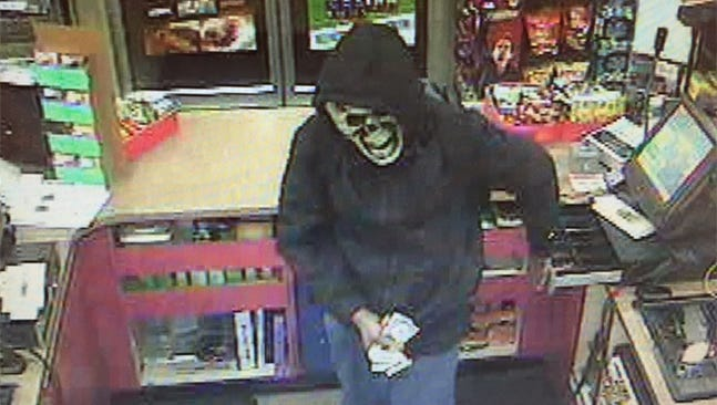 Annville police have released this surveillance photo of a suspect sought in the robbery ofTurkey Hill Minit Market, 2 E. Main St. on Tuesday.