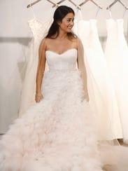 Bachelor wedding dress