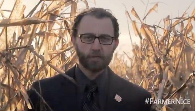 Scott Siepker, Des Moines filmmaker and creator of Farmer Nice.
