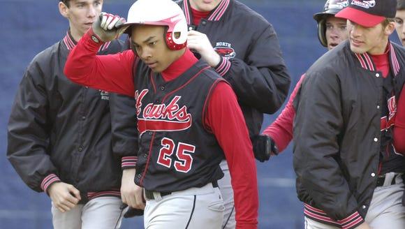North Buncombe alum Cody Geyer (25) is a relief pitcher