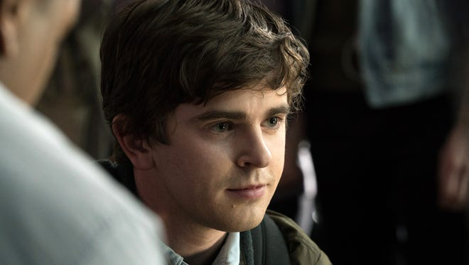 Freddie Highmore plays Dr. Shaun Murphy, a surgeon with autism and savant syndrome, in ABC's 'The Good Doctor.'