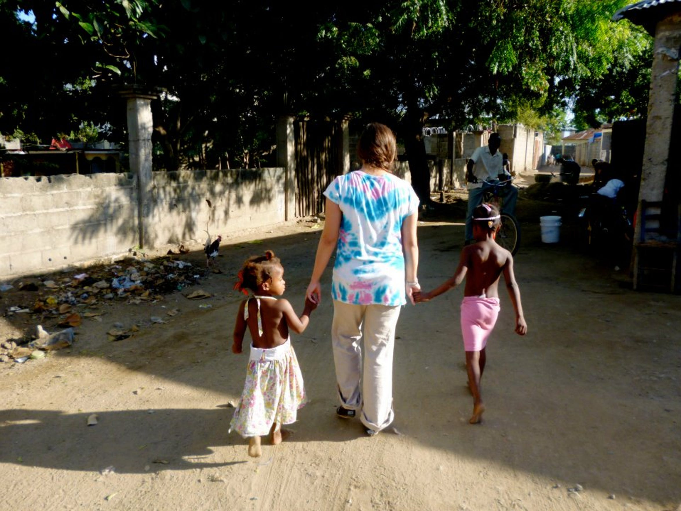 A look back at one of Sarah's first missionary trips