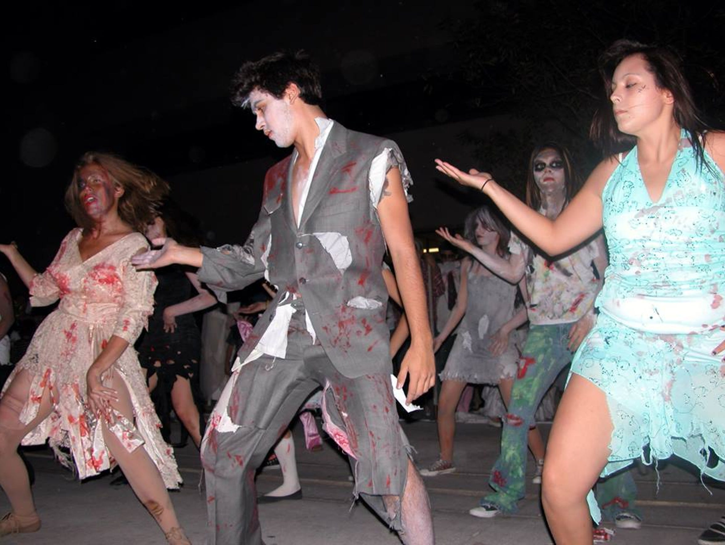 The eighth annual Zombie Walk will include performances by the Alma d'Arte Dance Troupe, HD2 Hip Hop Dance Studio, Daring Diamond Hip Hop Dance Studio andMichelle's Dance Academy.