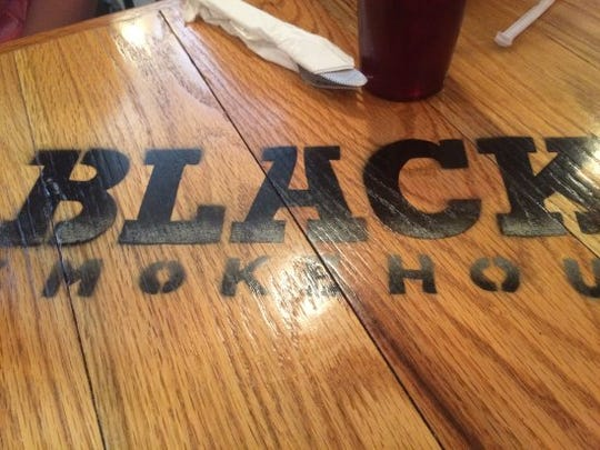 Black's Smokehouse in Seneca serves up barbecue nachos at lunch.
