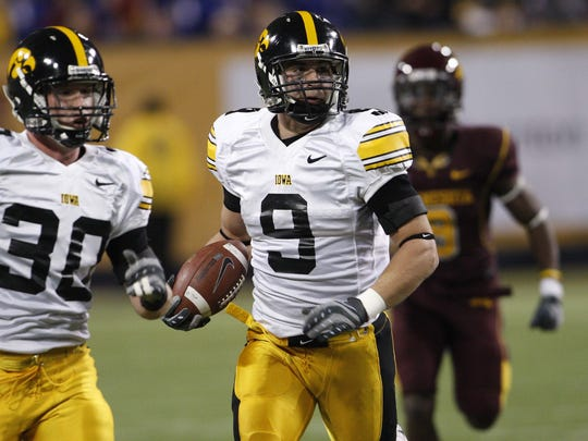 Tyler Sash intercepted 13 passes in three seasons with the Hawkeyes before entering the NFL Draft, where he was chosen in the sixth round by the New York Giants.