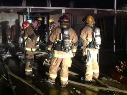 Phoenix firefighters responded to a fire at the Maryvale