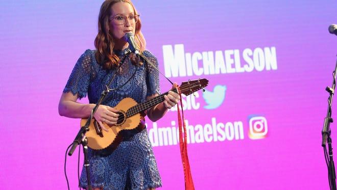 Ingrid Michaelson performing on Sept. 24, 2016, in New York.