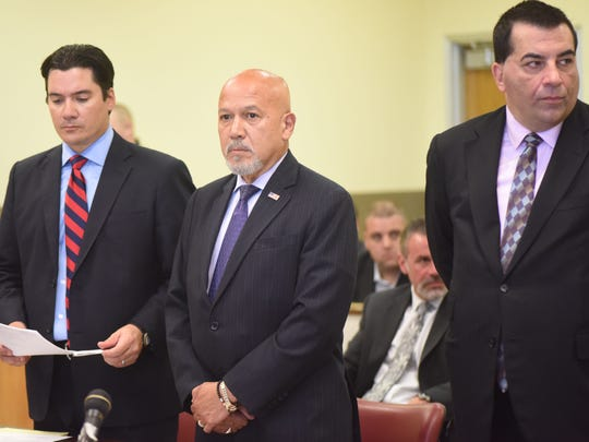 Paterson Mayor Joey Torres pleads guilty to corruption charges in Jersey City in   September.