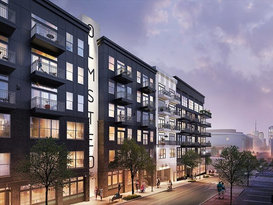 Olmsted Nashville, at 501 Fifth Ave S., is one of the