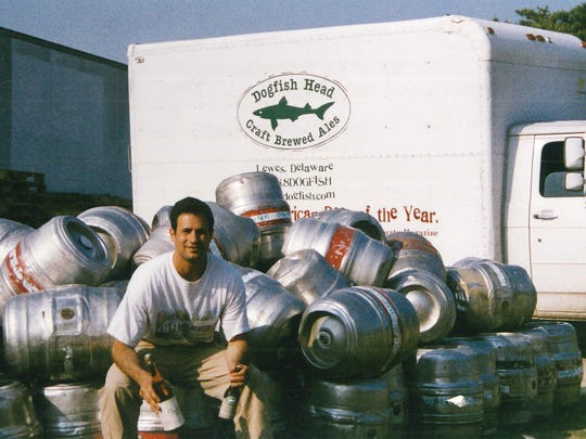Dogfish Head Brewery founder Sam Calagione in 1997.