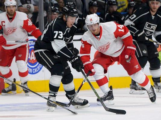 NHL: Detroit Red Wings at Los Angeles Kings
