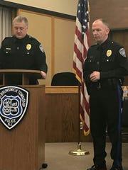 South Brunswick Police Chief Raymond Hayducka and Deputy