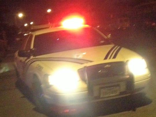 El Paso police car