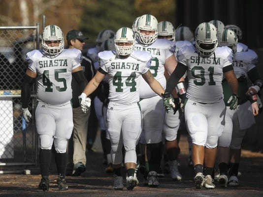Greg Barnette/Record SearchlightShasta College Football