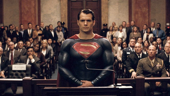 """Henry Cavill as Superman in Warner Bros. Pictures' action adventure """"Batman v Superman: Dawn of Justice,"""" a Warner Bros. Pictures release."""