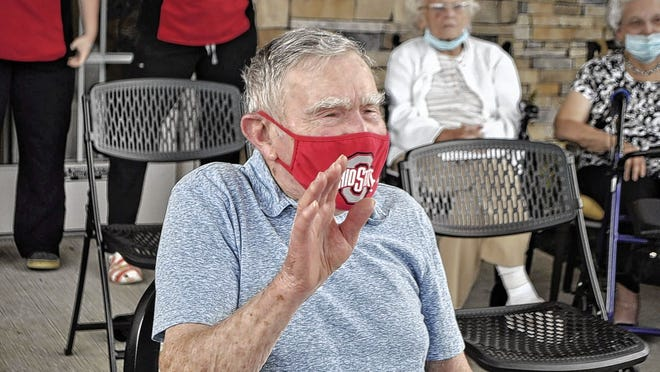 "Richard ""Dick"" Rarey was delighted at the sight of a parade of family members, friends and first responders as they drove through the parking lot of his residence at Hilliard Assisted Living and Memory Care on Sept. 6 to recognize his 99th birthday. Rarey, a World War II veteran, graduated from Hilliard High School in 1939."