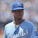 Kansas City Royals starting pitcher Yordano Ventura