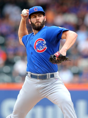 Jake Arrieta leads the majors with 16 wins and ranks