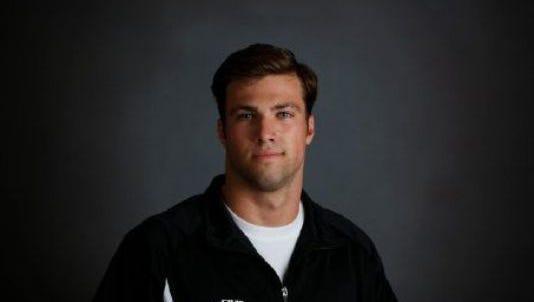 Alabama swimmer John Servati
