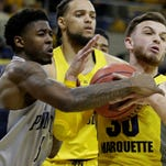 Penn State men's basketball team beats Marquette in NIT, heads to Madison Square Garden