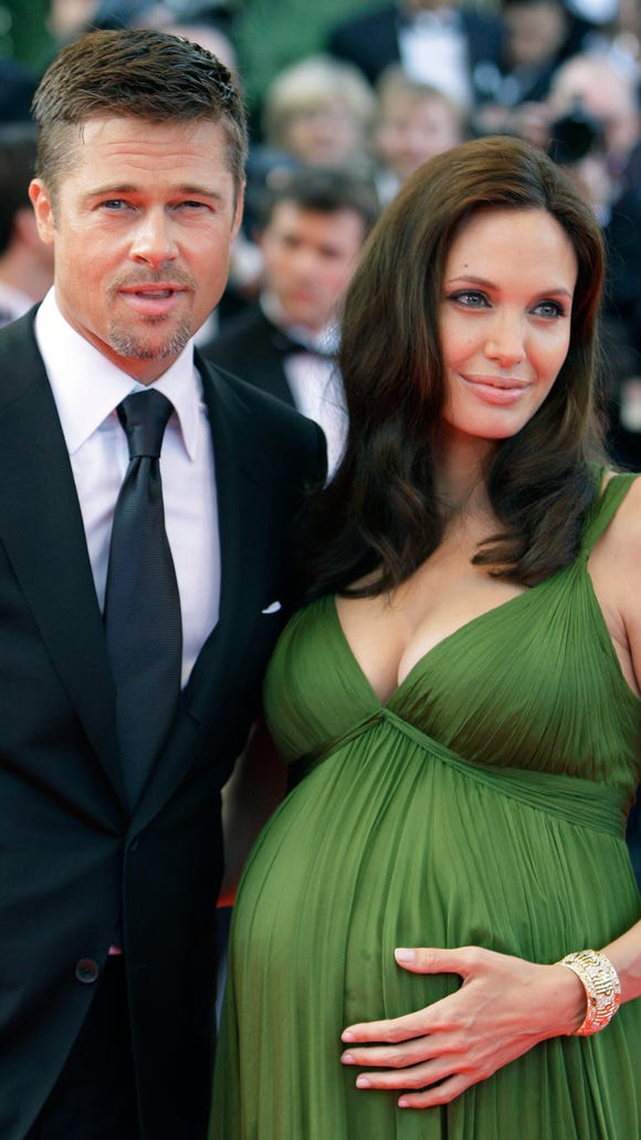 Angelina Jolie and Brad Pitt announced that they were