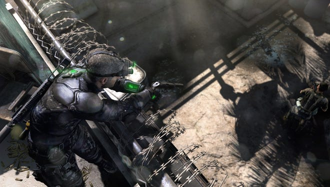 Sam Fisher is back and ready for action: 'Blacklist' is the latest in Ubisoft's 'Tom Clancy's Splinter Cell' tactical action franchise.