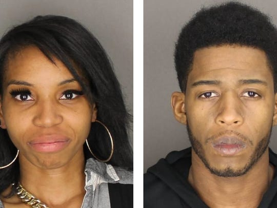 Antoinette Williams (left) was charged with two counts