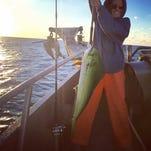 SHORE FISHING: Lots of squid, no tuna