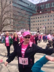 Shelly Rathbun's team raised $1,700 for cancer research