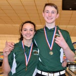 Pennfield's James Ruoff, Haley Hooper are state champs