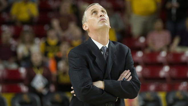 Coach Bobby Hurley finished 15-17 in his first season with the Sun Devils.