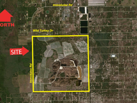 2,576+/- Immokalee Road acres sold for $38,479,500