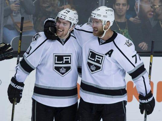 USP NHL: LOS ANGELES KINGS AT SAN JOSE SHARKS S HKN USA CA