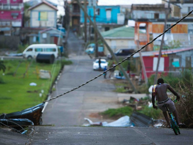 Residents of Portsmouth, Dominica, are still without