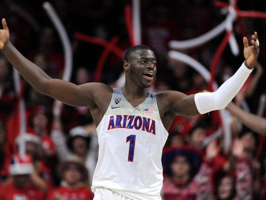 NCAA Basketball: Alabama at Arizona