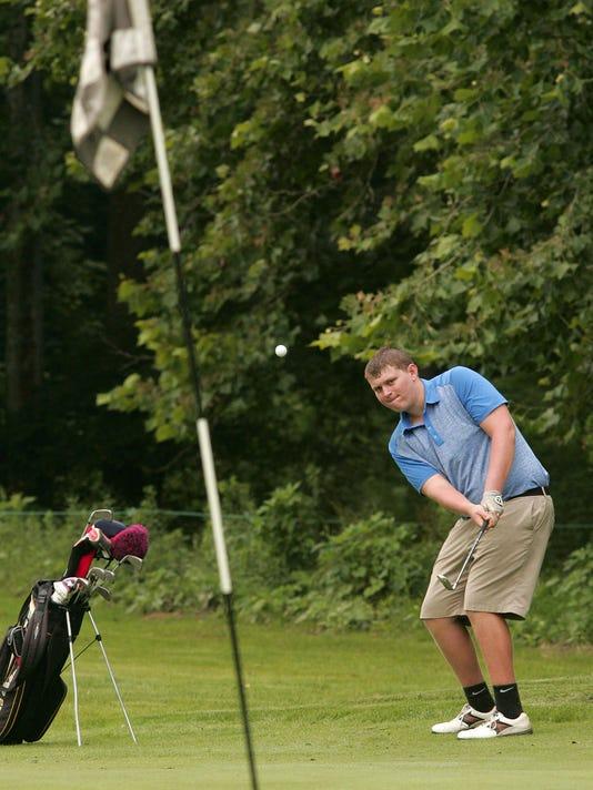 Licking County Junior Golf Association match at Raccoon International.