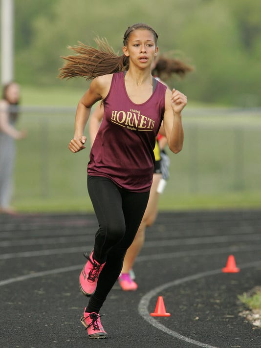 Licking County League Track Meet