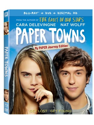 'Paper Towns: My Paper Journey Edition' arrives Oct. 20.