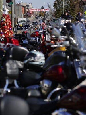 The Rolling Thunder Toy Run returns to Licking County this Sunday. Bikers will be collecting toys and donations for the Salvation Army.