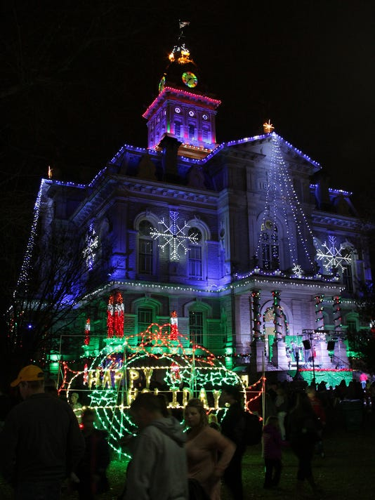 Permanent Christmas Lights.Permanent Lighting Coming To The Courthouse