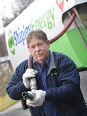 Fred Newcomer, a driver for Shipley Energy, delivers