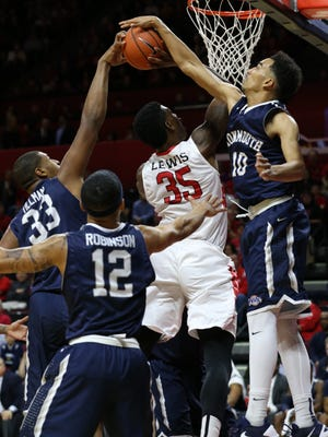 Rutgers mens basketball falls to Monmouth 67-73, Sunday, December 20, 2015, at the Louis Brown Athletic Center in Piscataway.