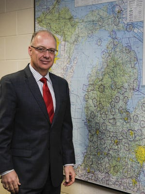 Michigan Department of Transportation Director Kirk Steudle is photographed  December 10, 2015.