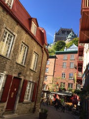 The lower town, Quebec City, Quebec, Canada.
