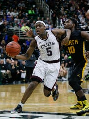 MSU incoming freshman point guard Cassius Winston turned in one of the greatest individual performances in state final history in March of 2016 — 31 points, 14 for 16 shooting, nine assists — in U-D Jesuit's 69-49 win over North Farmington.