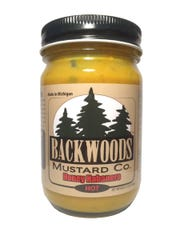 Backwoods Mustard Honey Habanaro Mustard took first place at the World Hot Sauce Awards in the mustard catagory.