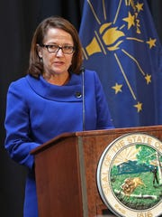 Indiana Supreme Court Chief Justice Loretta Rush says she's starting to see more judges making sure that defendants are connected with mental health and substance abuse treatment programs.