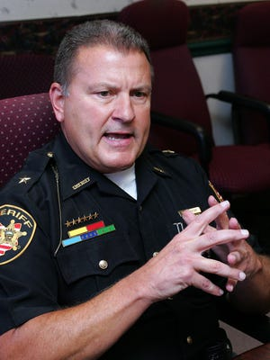 Licking County Sheriff Randy Thorp