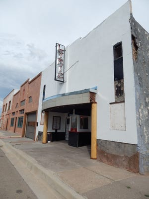 Carrizozo's Lyric Theater, formerly the Crystal Theater, is a prime example of the type and use of buildings, both existing and new, that became social centers in large and small towns alike.